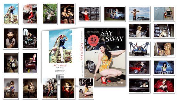 Postkartenbuch Say it Sway mit 25 Postkarten von Carlos Kela zum Heraustrennen