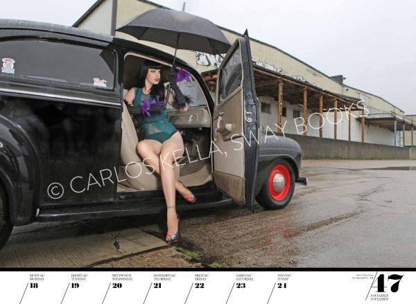 Girls & legendary US-Cars 2019 Wochenkalender von Carlos Kella