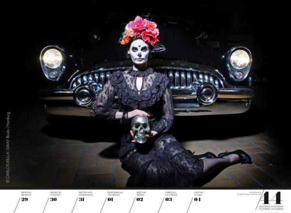 Girls & legendary US-Cars 2018 Wochenkalender von Carlos Kella mit 52 Kalenderblättern, 21 Models und 31 US-Oldtimern 10. Jubiläumsausgabe mit CUBA SPECIAL