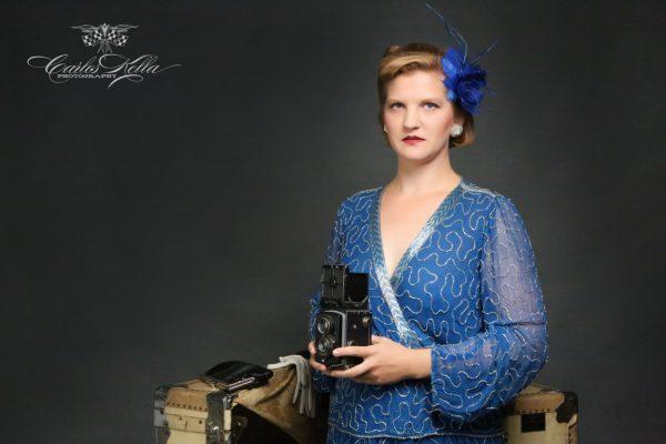 """Workshop mit Friseurmeisterin Antje Höhne von """"Kavaliere & Stadtschönheiten"""" und anschließendes Fotoshooting mit Carlos Kella bei SWAY Books."""