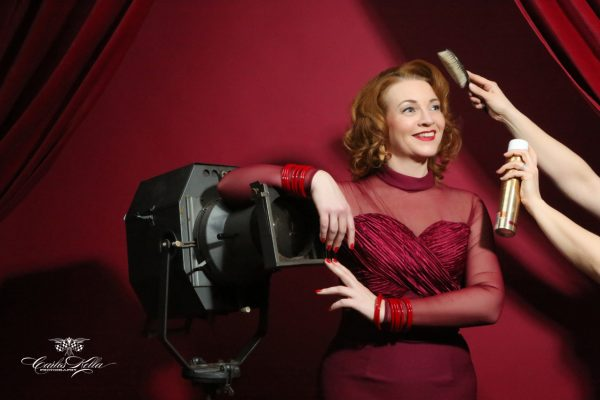 Vintage Hair- & Make-Up Workshop mit Typberatung und professionelles Fotoshooting im Pin-up/Vintage-Stil