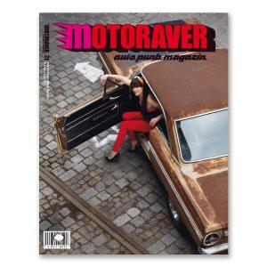 Motoraver Magazin Restart Issue #31. Total exklusiver Autopunk auf umweltzonenfreiem Papier. Herausgeber: Helge Thomsen