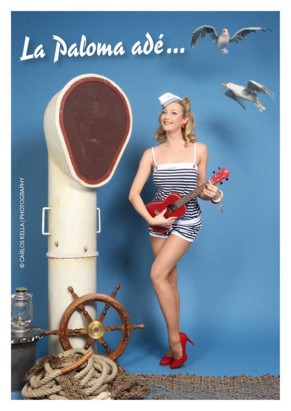 """Fotoshooting im Pin-up/Vintage Stil mit Carlos Kella und einem professionellen Styling von Friseurmeisterin Antje Höhne von """"Kavaliere & Stadtschönheiten"""""""