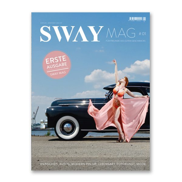 SWAY MAG #01 das Magazin aus dem SWAY Books Verlag mit Fotos von Carlos Kella