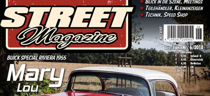 Die Street-X-MAS Geschenkideen im aktuellen Street Magazine Ausgabe Nr 132 Dezember 2018/Januar 2019.