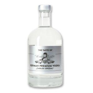 """The Taste of Carlos Kella: German Premium Vodka """"Carlos Spezial"""" in dekorativer Geschenkdose Hergestellt und von Hand abgefüllt in Hamburg"""