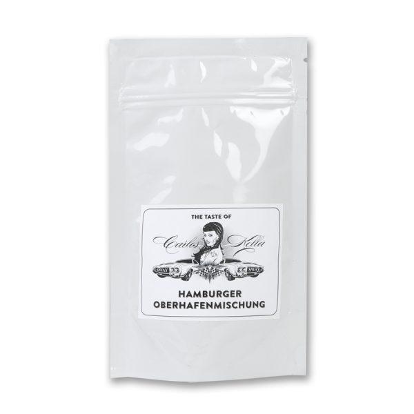 The Taste of Carlos Kella: Die Hamburger Oberhafenmischung. 125g Röstkaffee aus Hamburg, Filterfertig gemahlen. 100% Arabica