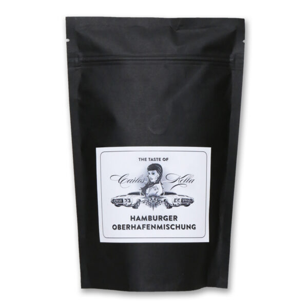 The Taste of Carlos Kella: Die Hamburger Oberhafenmischung 250g Röstkaffee aus Hamburg, Filterfertig gemahlen. 100% Arabica