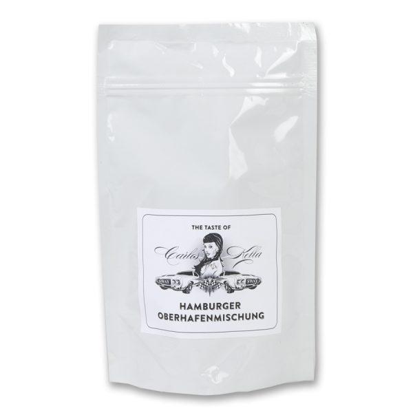 The Taste of Carlos Kella: Die Hamburger Oberhafenmischung. 250g Röstkaffee aus Hamburg, Filterfertig gemahlen. 100% Arabica