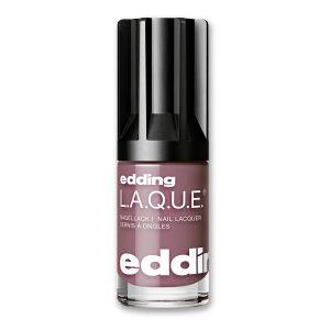 Nagellack No. 268 Great Grape von edding L.A.Q.U.E. – vegan und nagelfreundlich. Eine moderne, kräftige Interpretation von Nude, macht jeden Tag zu etwas besonderem.