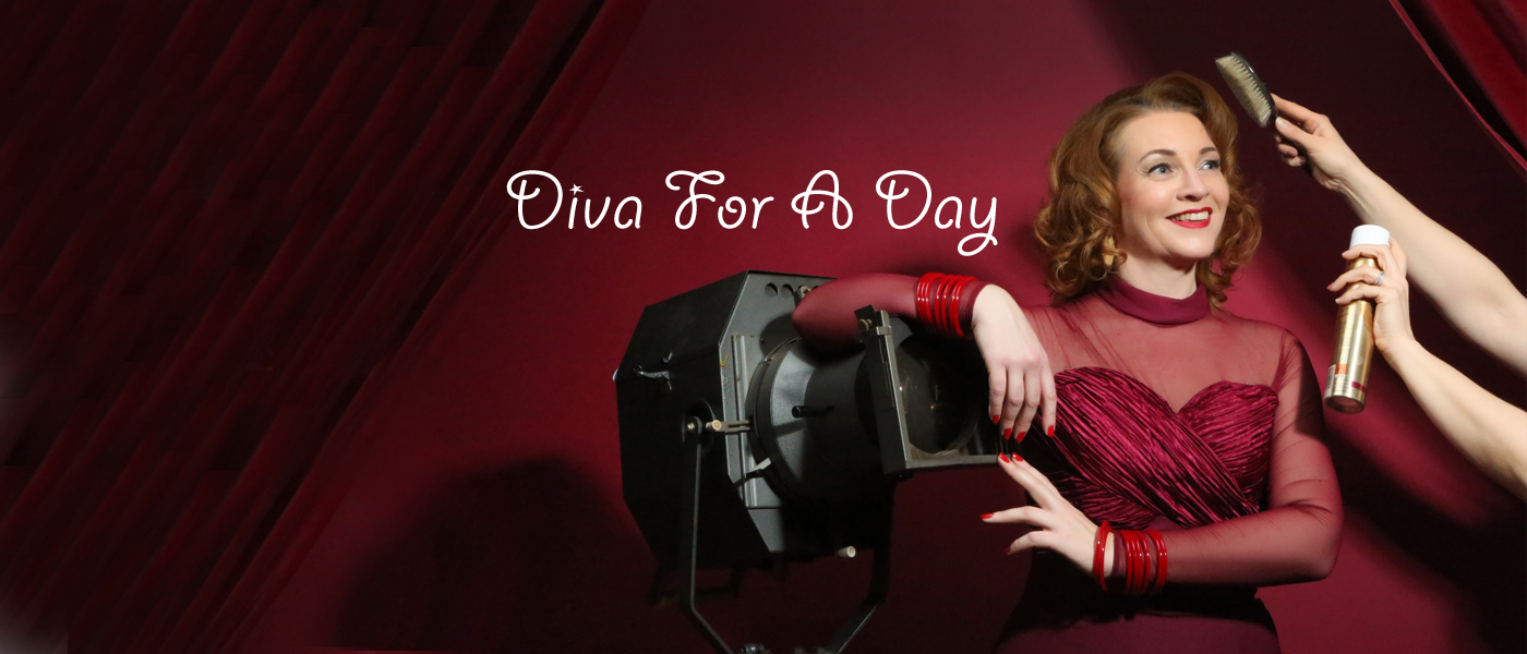 Diva for a Day – Vintage Hair & Make-up Workshops mit professionellem Fotoshooting bei SWAY Books & Carlos Kella