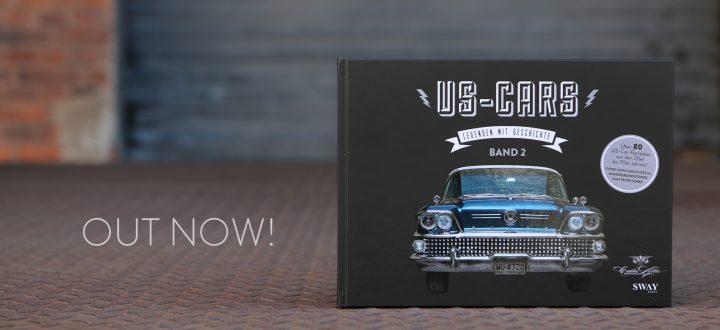 SWAY Books und Carlos Kella | Photography sind auch in diesem Jahr wieder mit einem Stand vertreten. Selbstverständlich werden wir den druckfrischen neuen Bildband US-Cars – Legenden mit Geschichte Band 2 dabei haben. Carlos Kella signiert auch gerne auf Anfrage!