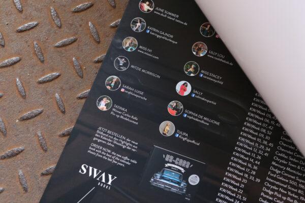 Girls & legendary US-Cars 2020 Wochenkalender von Carlos Kella mit 53 Kalenderblättern.
