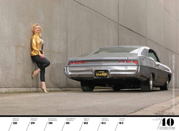 Girls & legendary US-Cars 2020 Wochenkalender von Carlos Kella, Wochenkalender mit 53 Kalenderblättern