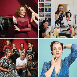 Vintage Hair- & Make-Up Workshop mit Fotoshooting
