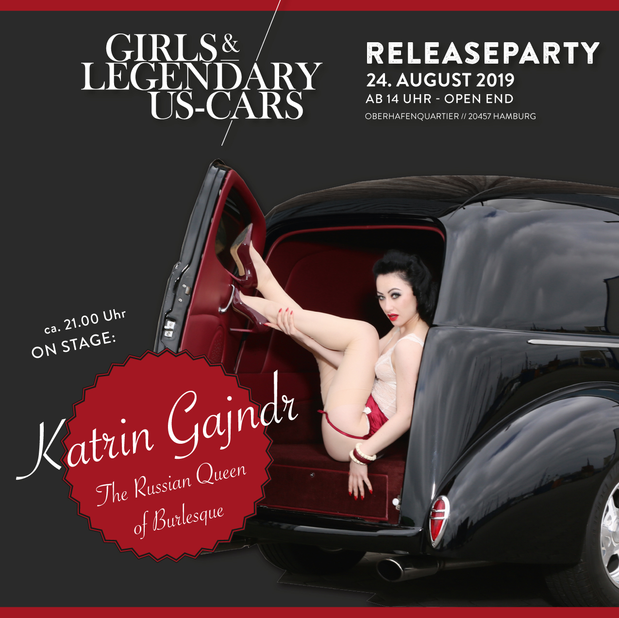 Burlesque-Show by the Russian Queen of Burlesque Katrin Gajndr!