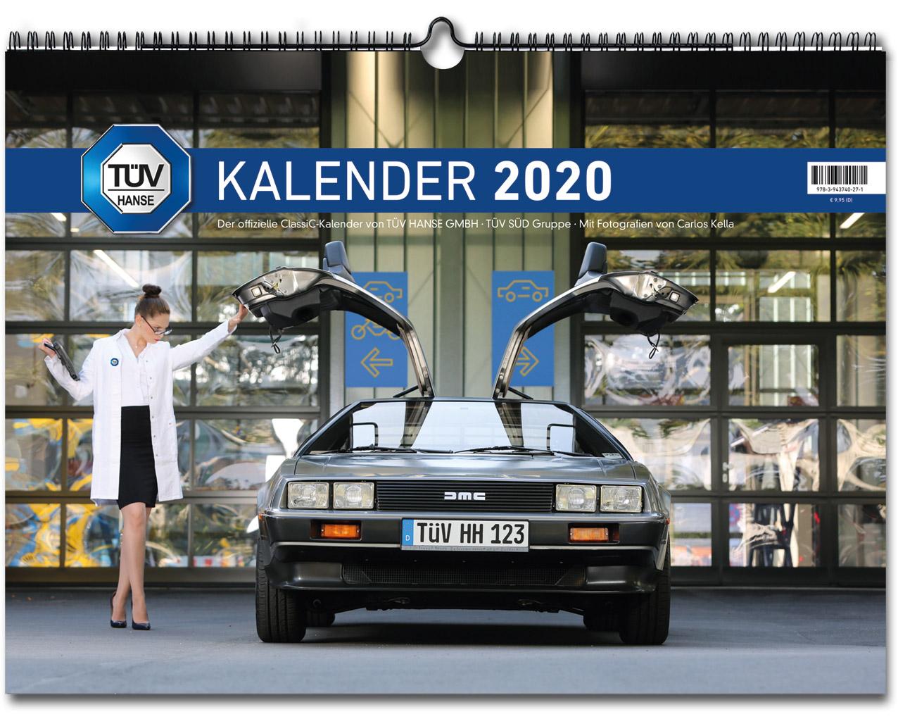 Der TÜV HANSE Classic Kalender 2020 mit Fotos von Carlos Kella | Photography ist jetzt bei SWAY Books lieferbar