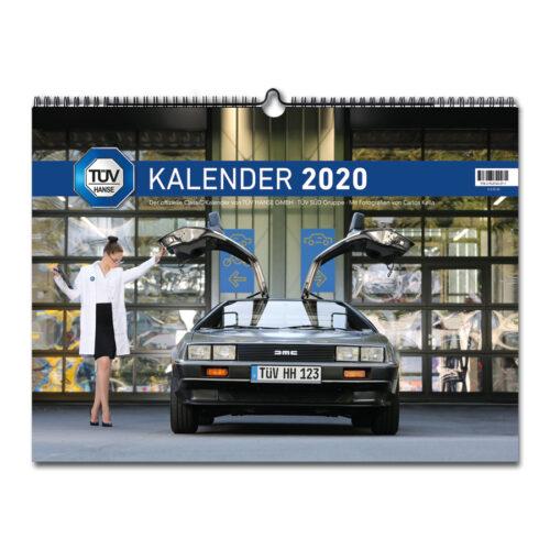 Der TÜV HANSE ClassiC Kalender 2020 mit Fotos von Carlos Kella   Photography: Monatskalender mit 12 klassischen Automobilen.