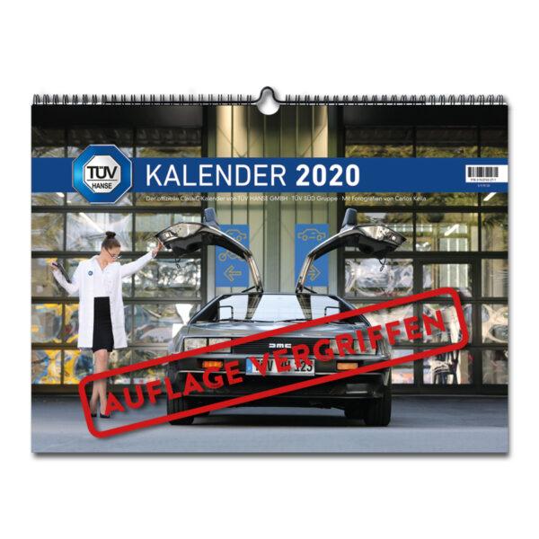 Der TÜV HANSE ClassiC Kalender 2020 mit Fotos von Carlos Kella | Photography: Monatskalender mit 12 klassischen Automobilen.
