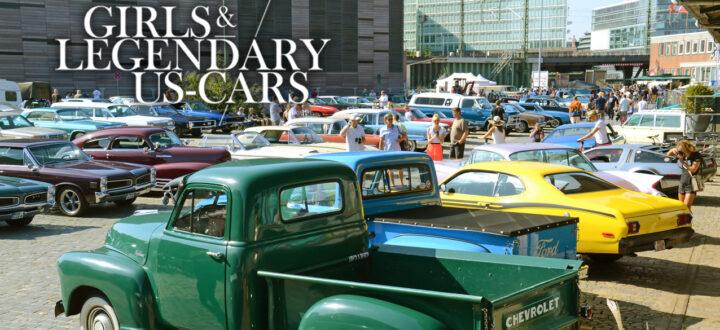 Girls & legendary US-Cars 2021 Kalender-Relaseparty