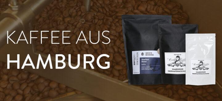 Moin Bohne! Kaffee aus Hamburg: Röstfrischer Kaffee aus Hamburg bei SWAY Books.