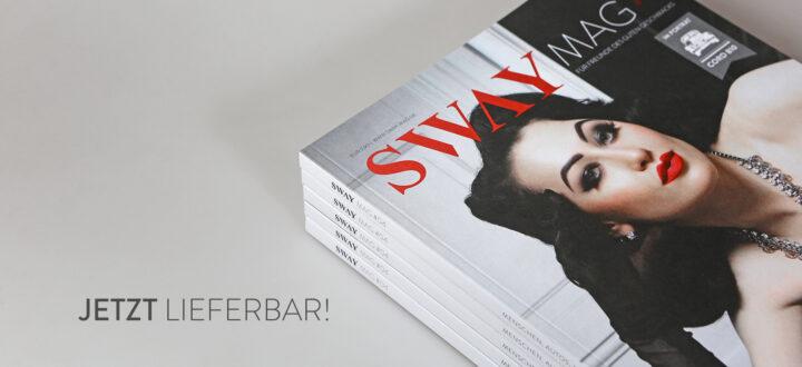 Das SWAY MAG #04 ist jetzt bei SWAY Books lieferbar! Das war der Livestream zur SWAY MAG #04 Release.