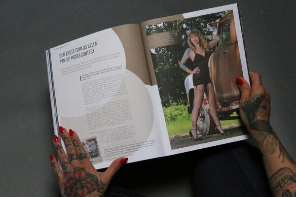 SWAY MAG #04, Das Magazin für Freunde des guten Geschmacks aus dem SWAY Books Verlag mit Fotos von Carlos Kella.