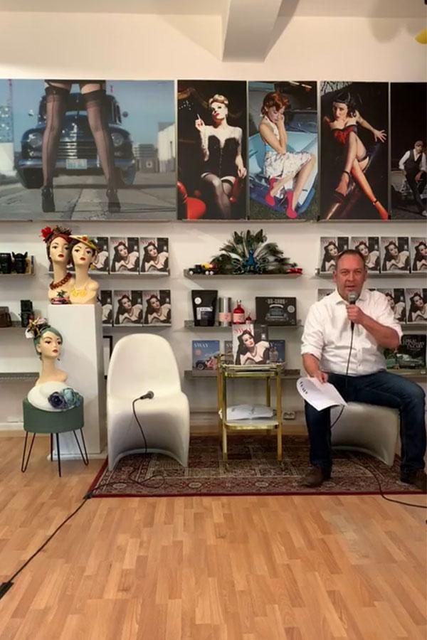SWAY MAG #04 Livestream aus dem SWAY Books Studio