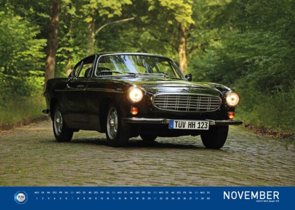 Der TÜV HANSE ClassiC Kalender 2021 mit Fotos von Carlos Kella | Photography: Monatskalender mit 12 klassischen Automobilen.