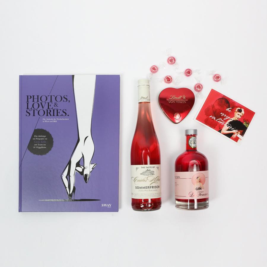 Das Valentines-Special für Ladies: Das Genusspaket für sie zum Valentinstag