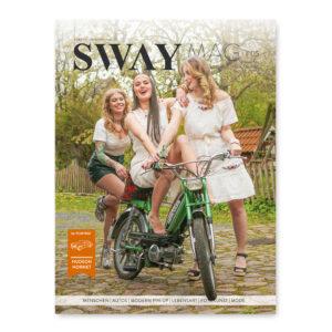 SWAY MAG #05, Das Magazin für Freunde des guten Geschmacks aus dem SWAY Books Verlag mit Fotos von Carlos Kella. Titelstory: Freiheit mit 25 von Helge Thomsen.
