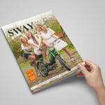 SWAY MAG #05, Das Magazin für Freunde des guten Geschmacks aus dem SWAY Books Verlag mit Fotos von Carlos Kella.