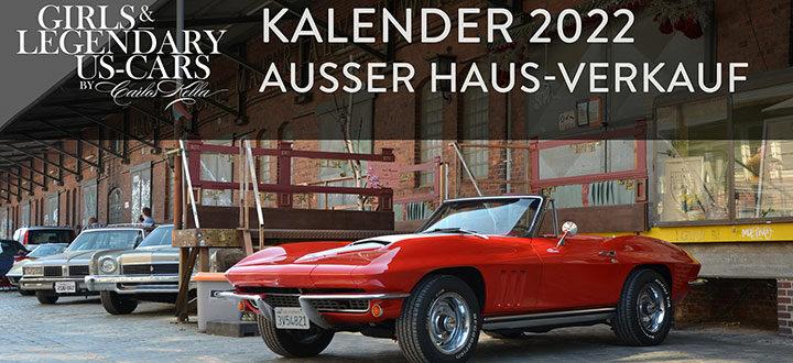 Girls & legendary US-Cars 2022   Kalender-Release