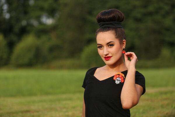 "SWAY MAG Lupita Margarita Schmuck-Bundle ""Hibiskus Skull"""