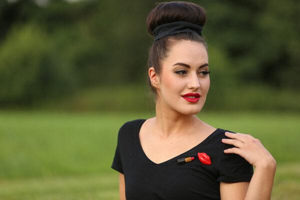 "SWAY MAG Lupita Margarita Schmuck-Bundle ""Lipstick Kiss"""